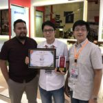 Glassmart winning Best Design Booth at IBT 2018 Surabaya