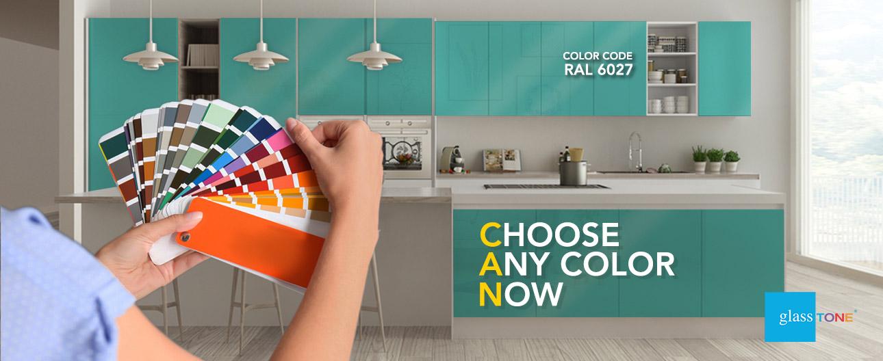 GlassTone Custom - Color Code RAL 6027
